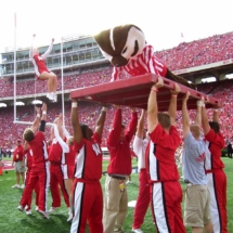 Bucky_Badger_Pushups